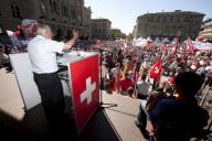 SVP 'Familientag' Bundespaltz Bern