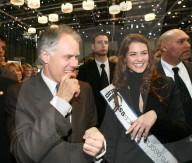 Autosalon Genf 2006: Bundespräsident Leuenberger, Lauriane Gilliéron