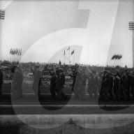 Rom 1960: Eröffnungszeremonie, Einmarsch der Schweizer Delegation