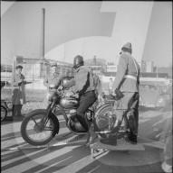 Gratis Lärm-Messaktion der Stadtpolizei Zürich 1961