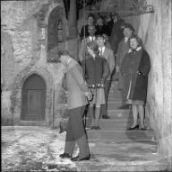 Empfang der Gäste aus Grossbritannien, Schloss Vaduz 1965