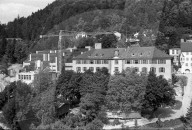 Sprengung des alten Konviktes, Chur 1970