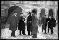 WK 2: Wirtschaftsdelegation der Alliierten, Empfang beim Bundesrat 1945