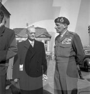 Feldmarschall Montgomery in Zürich, 1949