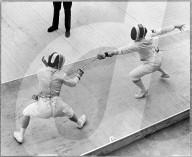 Olympische Spiele Rom 1960: Kovacz gegen Olympiasiegerin Adelheid Schmid