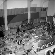 CERN: Vortrag im Hörsaal 1959