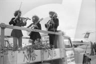 Jubiläumsfeier der Schweizer Bilbliothek, Flughafen Kloten 1970