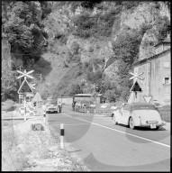 Automatische Halbbarriere der SBB, 1957