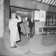 Fürst Rainier und Grace von Monaco auf Staatsbesuch in der Schweiz, 1960