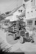 WK 2: Bombardierung; Menschen auf der Flucht, Delle 1944