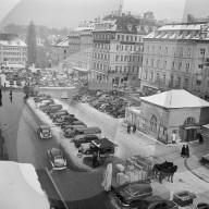 Parkplatz Waisenhausplatz, 1957