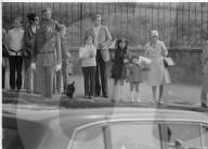 Warten auf Kaiser Hirohito und Kaiserin Nagako, Genf 1971