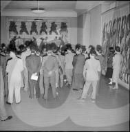 Eröffnung einer Hodler-Ausstellung im Helmhaus Zürich 1951