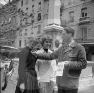 """Waadtländer Hilfsaktion """"Ville Vigne"""" in Genf, 1957"""