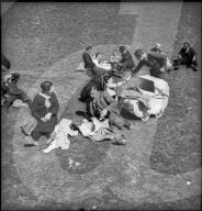 Picknick in Valendas, 1945