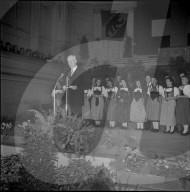 Berner Bürgerpartei feiert Bundesrat Markus Feldmann, 1951
