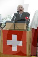 Gedenkfeier zum Kriegsende vom 8. Mai 1945: Christoph Blocher