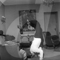 Rolling Stones, Zürich 1967: Charlie Watts, Kopfstand im Hotelzimmer
