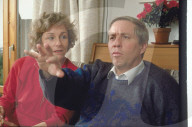 Christoph Blocher mit Frau Silvia 1990