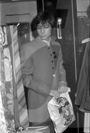 Charlie Watts von den Rolling Stones bei Naphtaly's (Bob) 1967