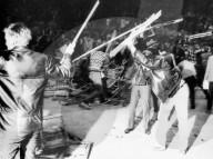 Rolling Stones, Hallenstadion Zürich, 1967: randalierende Fans, Krawall
