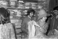 Charlie Watts von den Rolling Stones bei Naphtaly's 1967