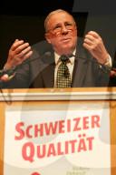 Albisgüetli-Tagung der SVP 2006: Christoph Blocher