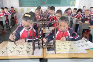 REPORTAGE - Kalligraphie Unterricht in China