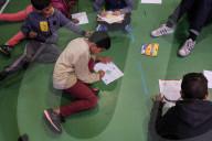 REPORTAGE - Frankreich: Obdachlose Familien finden eine Unterkunft im Gymnasium in Toulouse
