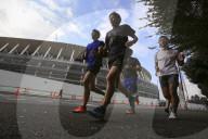 REPORTAGE - Japan: Bauarbeiten für die Olympischen Spiele 2020 in Tokio