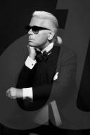 RETRO - Karl Lagerfeld - Bilder by LE FIGARO - SPEZIALKONDITIONEN