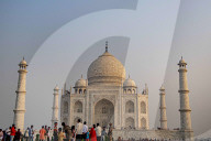 REPORTAGE - Indien: Touristenmagnet Taj Mahal