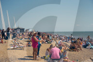 REPORTAGE - Briten am Meer am Bank Holiday Monday