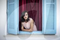 PORTRAIT -  Emna Charki, tunesische Bloggerin, die wegen eines Facebook-Posts gerichtlich verfolgt wird