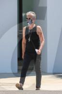 EXKLUSIV - Jamie Lee Curtis, 60, auf dem Weg zu einem Treffen in Beverly Hills