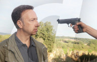 "EXKLUSIV - Stephane Bern auf dem Filmset für ""La Mort vue du ciel"""
