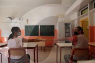 NEWS - Coronavirus: Schulpersonal in Mailand bereitet sich auf Wiedereröffnung der Schulen  vor