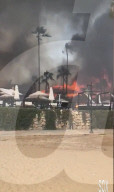 NEWS - Feuer verwüstet den Puro Beach Club bei Marbella