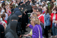 NEWS - Belarus: Frauenkundgebung der Opposition in Minsk