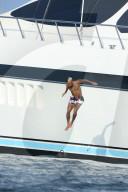 PEOPLE - Neymar Jr. vergnügt sich an Bord einer Luxusyacht