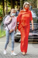 ROYALS - Prinzessin Eleonores erster Schultag im College in Belgien