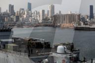 NEWS - Libanon: Der zesrstörte Hafen von Beirut