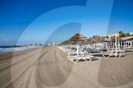 NEWS - Coronavirus: Leere Strände in Marbella