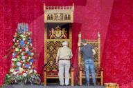 ROYALS - Vorbereitungen für den Prinzentag 2020 in Den Haag