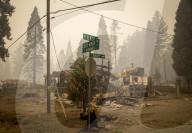 NEWS - USA: Schäden nach Waldbränden in Oregon