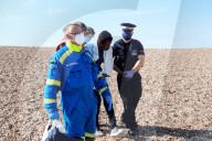 NEWS - An der englischen Kanalküste: Bootsflüchtlinge werden von der Grenzpolizei empfangen
