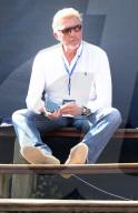 PEOPLE - Boris Becker als Zuschauer bei den 2020 Hamburg European Open