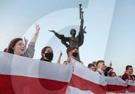 NEWS - Belarus: Massenproteste nach heimlicher Vereidigung Lukaschenkos in Minsk