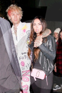 PEOPLE - Machine Gun Kelly feiert Party mit Megan Fox in Hollywood