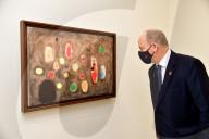 """ROYALS - Albert von Monaco bei der Eröffnung der Ausstellung """"Miró"""""""
